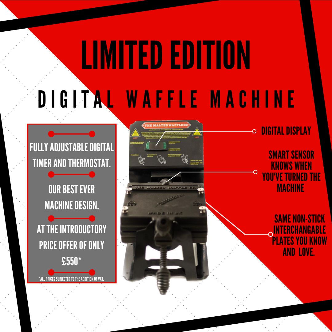 Limited Edition Waffle Machine Specification. MWC.